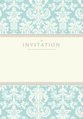 Invitation to the wedding or announcements — Vecteur