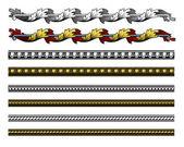 Revival design elements — Vetorial Stock