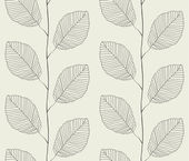 Seamless pattern from leaves — Stock Vector