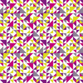 Seamless geometric pattern with triangle. — Stock Vector
