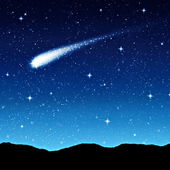 Cielo estrellado de noche — Foto de Stock