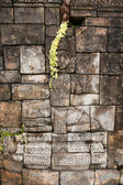Stará kamenná zeď — Stock fotografie