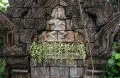 Velho muro de pedra — Fotografia Stock