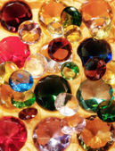 Glass gems — Stock Photo