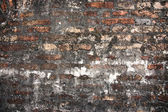 Fondo de grunge de pared de ladrillo antiguo — Foto de Stock
