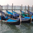 Gondolas in Venice, Italy. — Stock Photo #13722848