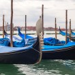 Gondolas in Venice, Italy. — Stock Photo #13899409
