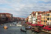 Mañana en venecia, italia. — Foto de Stock