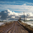 Stockfoto: Rural road.