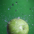Green apple. — Stock Photo