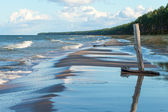 Coast of Baltic sea. — Stock Photo