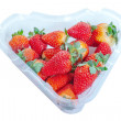 Strawberries in box.. — Foto de Stock