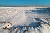 Frozen Baltic sea. — Foto Stock