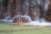 Vodopád hradního vrchu, nice, francie. — Stock fotografie