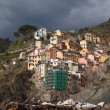 Riomaggiore village, Italy. — Stock Photo