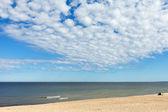 Baltské moře v palanga, litva. — Stock fotografie