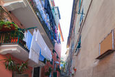 Monterosso street, Cinque terre, Italy. — Stock Photo