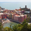 Vernazza city, Cinque terre, Italy. — Stock Photo