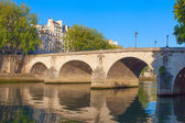 Bridge Ponte Marie, Paris. — Stock Photo
