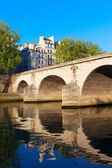 Bridge Ponte Marie, Paris. — Foto Stock