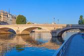 Louis Philippe bridge in Paris. — Stockfoto