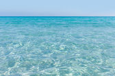 Ripple in Mediterranean sea. — Stock Photo