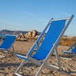Beach chairs. — Foto de Stock