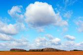 Cloud in sky. — Stock Photo