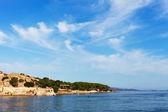 Sardiniens kust på palau city. — Stockfoto