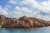 Cliffs in north Sardinia. — Stock Photo