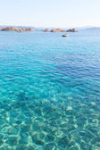 Ripple in Mediterranean sea. — Stock Photo