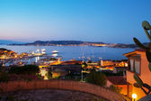 Palau port, Sardinia. — Stock Photo