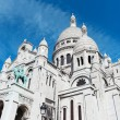 Sacre-Coeur cathedral, Paris. — 图库照片