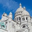 Sacre-Coeur cathedral, Paris. — Stock Photo