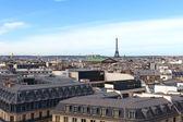 Paris roofs. — Stock Photo
