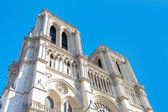 Towers of Notre Dame cathedral, Paris. — Stock Photo