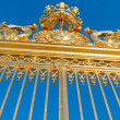 Golden gate of Versailles palace. — Foto de stock #34252165