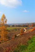 Podzimní krajina. — Stock fotografie