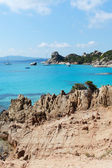 Mediterranean sea at Sardinia, Italy. — Foto Stock