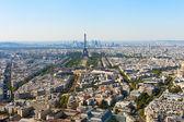 Vista aérea de paris. — Foto Stock