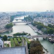 Stock Photo: Paris town scape.