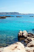 Mediterranean sea at Maddalena archipelago, Sardinia , Italy. — Photo