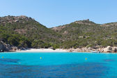 Mediterranean sea at Maddalena archipelago, Sardinia , Italy. — Stock Photo