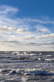 Stormy Baltic sea. — Stockfoto