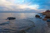 Costa del mar Báltico. — Foto de Stock