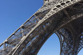 Detail of Eiffel tower, Paris. — Stock fotografie