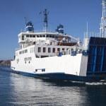 Ferry in Mediterranean sea. — Stock Photo #38424871