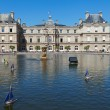 Luxembourg palace in Paris. — Stock Photo