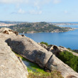 Stock Photo: Wief from Bear rock, Sardinia, Italy.