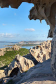 North Sardinia coast at cape Dorso, Italy. — Stockfoto